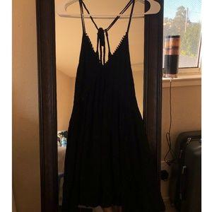 Shift cross-back dress